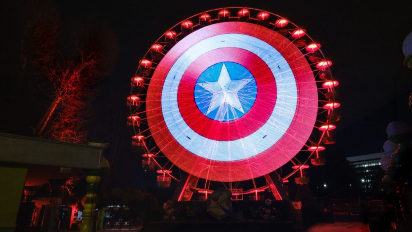 The Falcon and the Winter Soldier: lo scudo di Captain America appare nelle grandi città