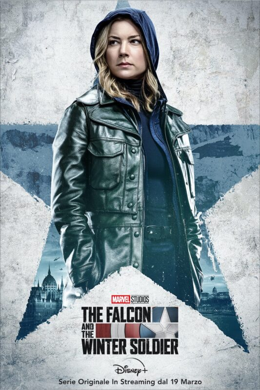 The Falcon and the Winter Soldier: i poster dei protagonisti