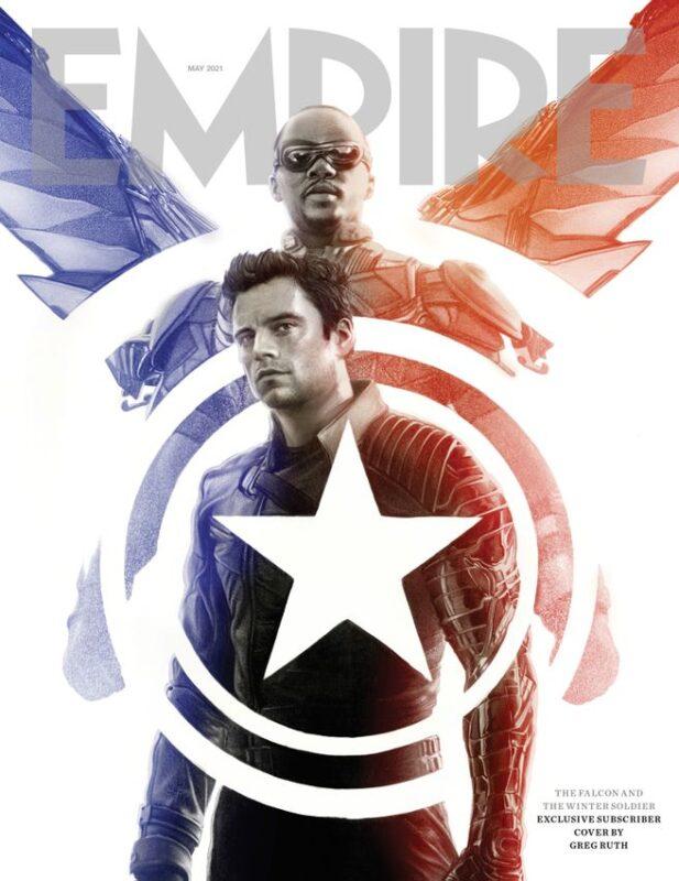 The Falcon and the Winter Soldier: le due copertine di Empire Magazine