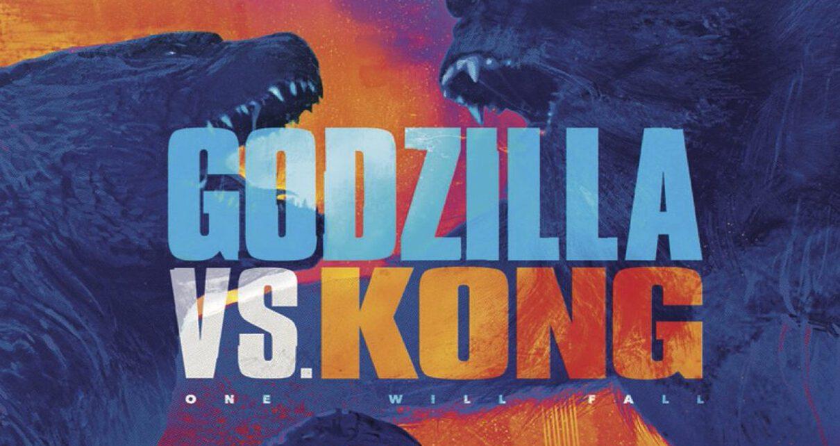 Godzilla vs Kong poster imax
