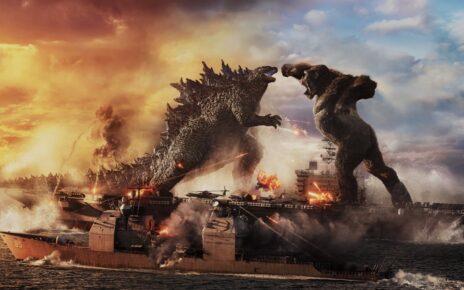 Godzilla vs Kong nuovo poster internazionale