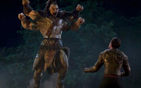 Mortal Kombat film goro