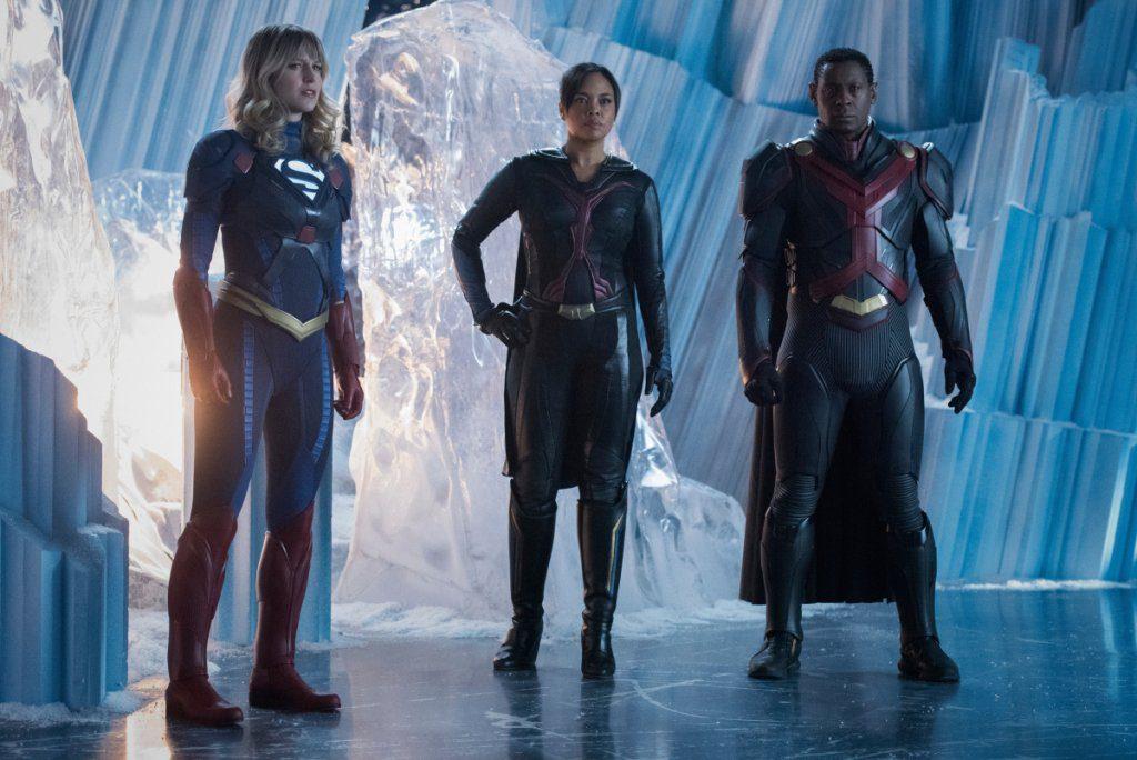 Tante foto dalla premiere della sesta stagione di Supergirl