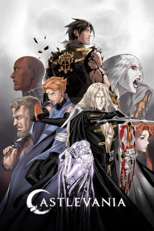 castlevania - quarta stagione poster