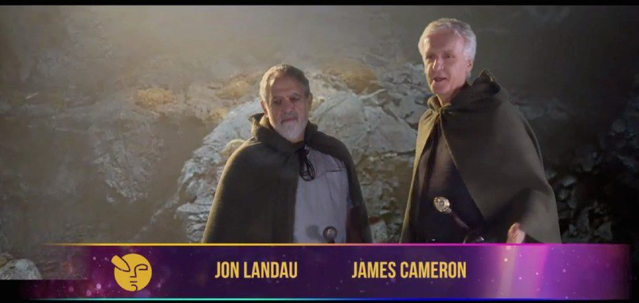 james cameron e jon landau hobbit