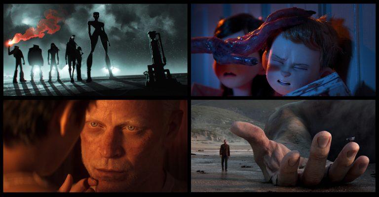 Giganti, alieni e demoni natalizi nel teaser trailer di Love, Death and Robots 2