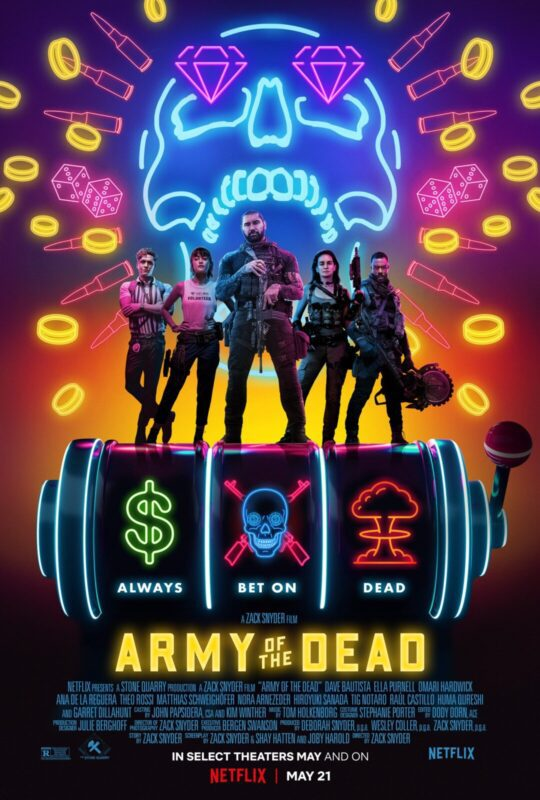 army of the dead nuovo poster