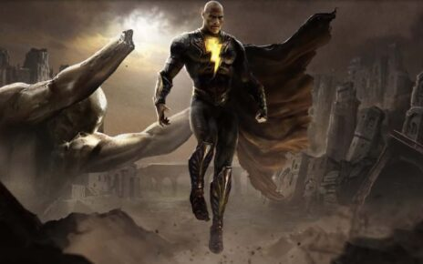 Black Adam - riprese partite