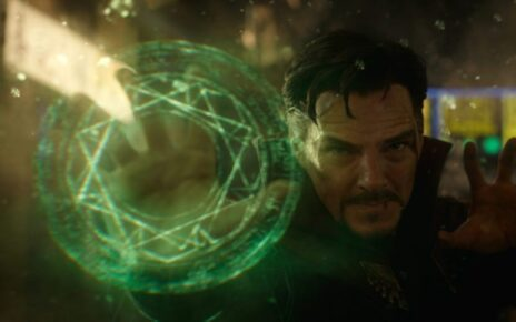 doctor strange in the multiverse of madness riprese