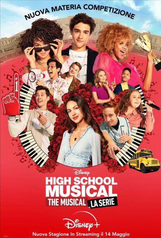 high school musical - the musical la serie - seconda stagione poster