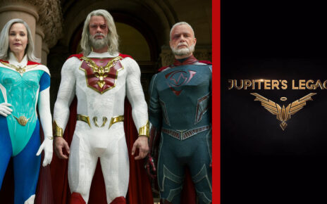 Jupiter's Legacy: i characters poster dei mitici protagonisti
