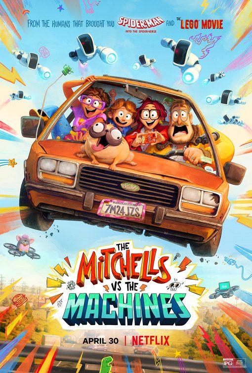 Tutti in viaggio nel nuovo poster di I Mitchell contro le Macchine