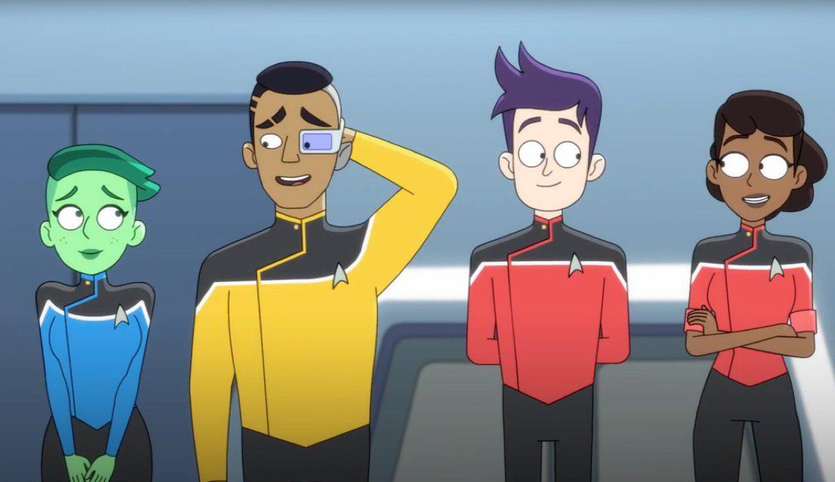 star trek: lower decks 2 - data e rinnovo