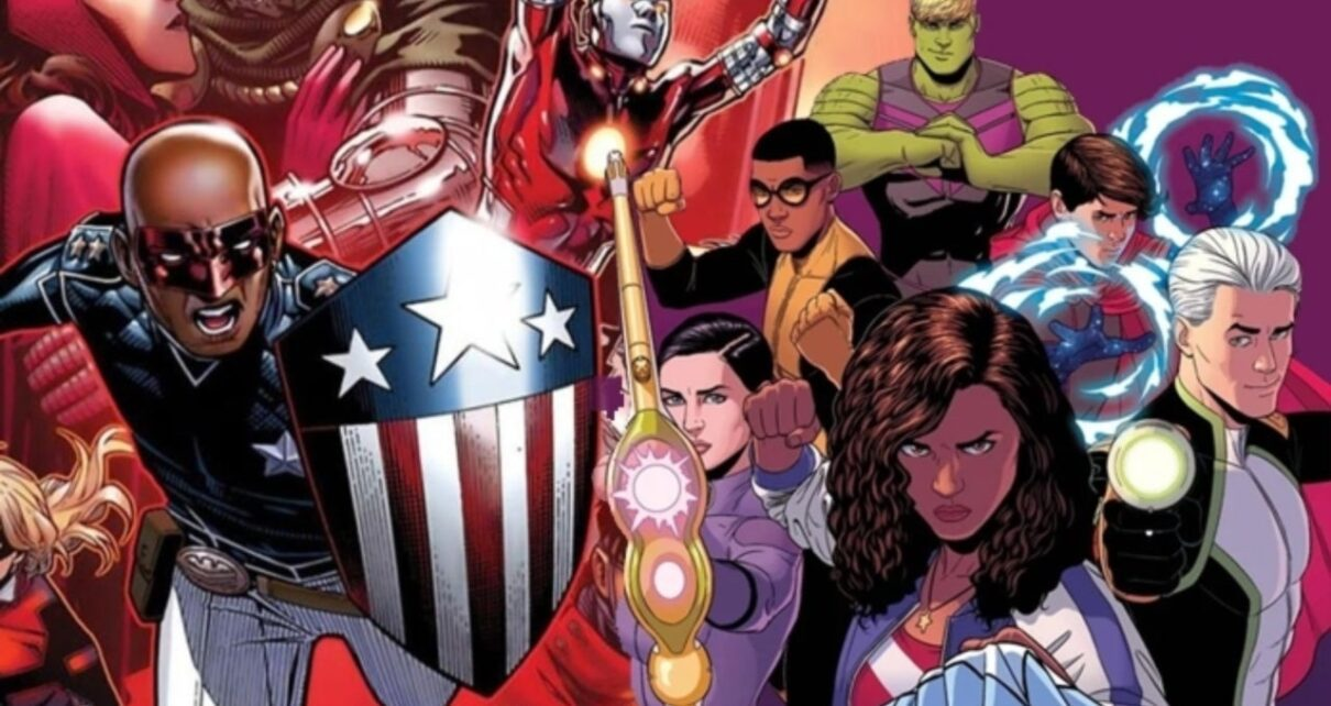 young avengers nell'mcu