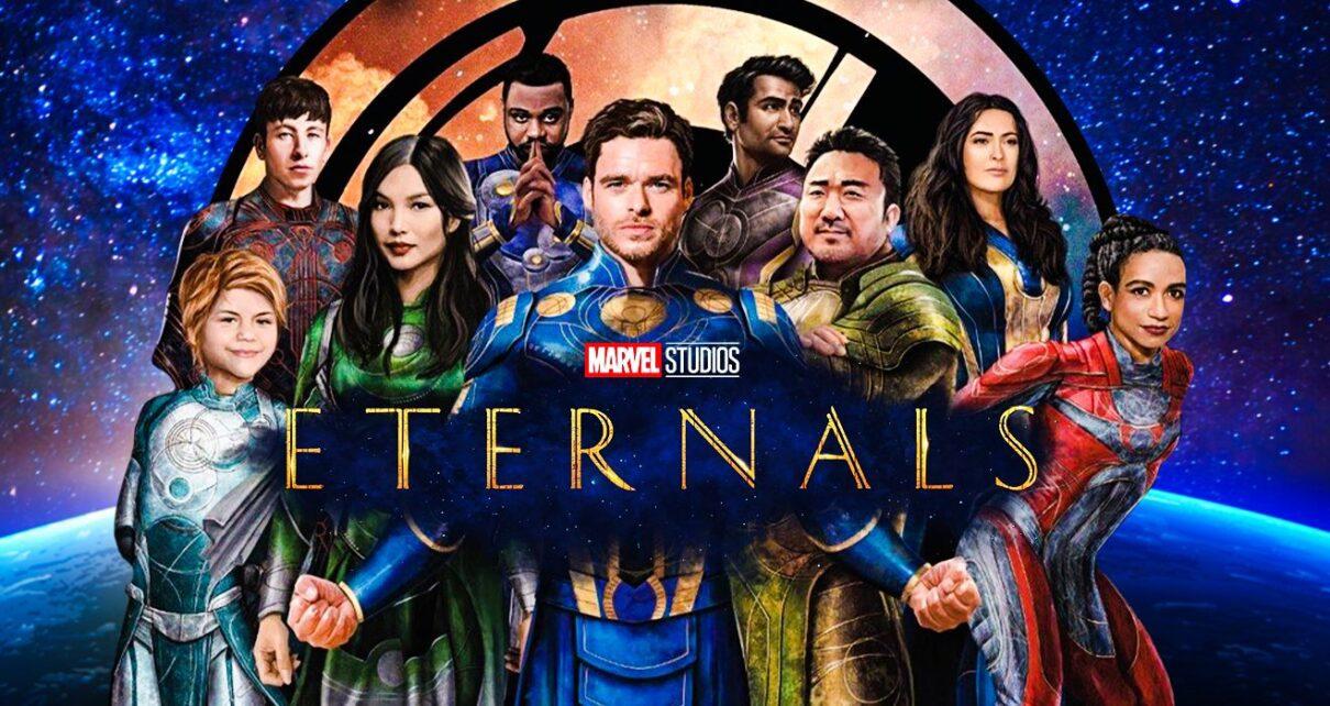 eternals film poster