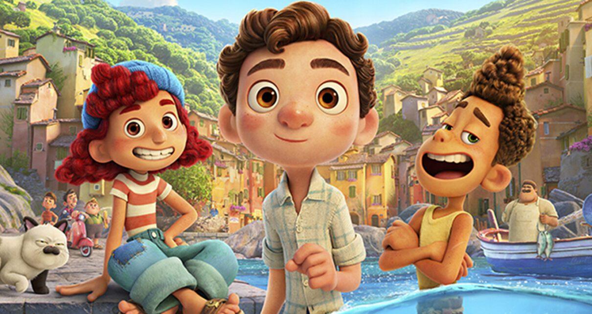 Luca Pixar poster