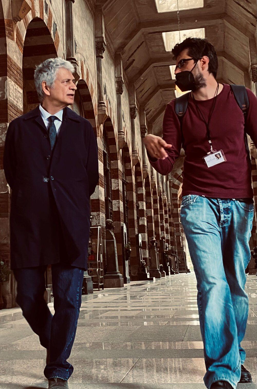 MONTEROSSI: il regista Roan Johnson torna sul set con Fabrizio Bentivoglio