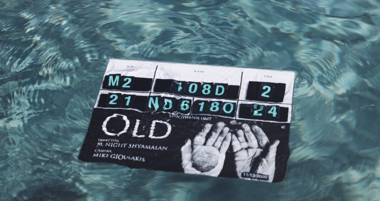 old film trailer