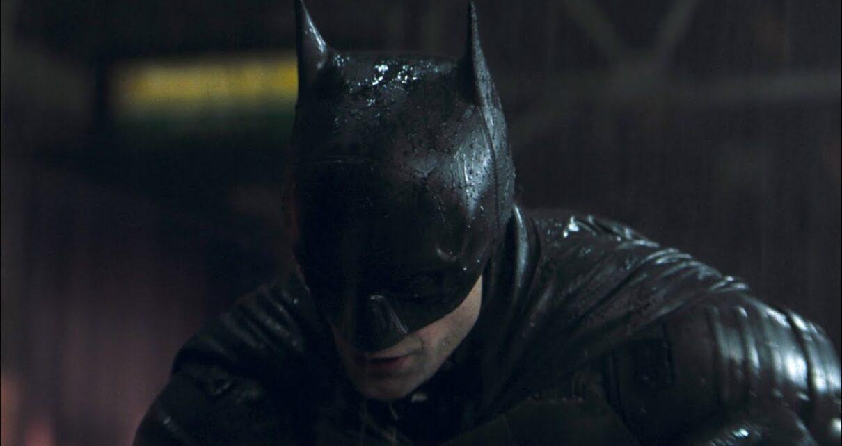 the batman film promo art