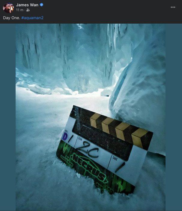 Al via le riprese di Aquaman and the Lost Kingdom: l'annuncio di James Wan • Universal Movies