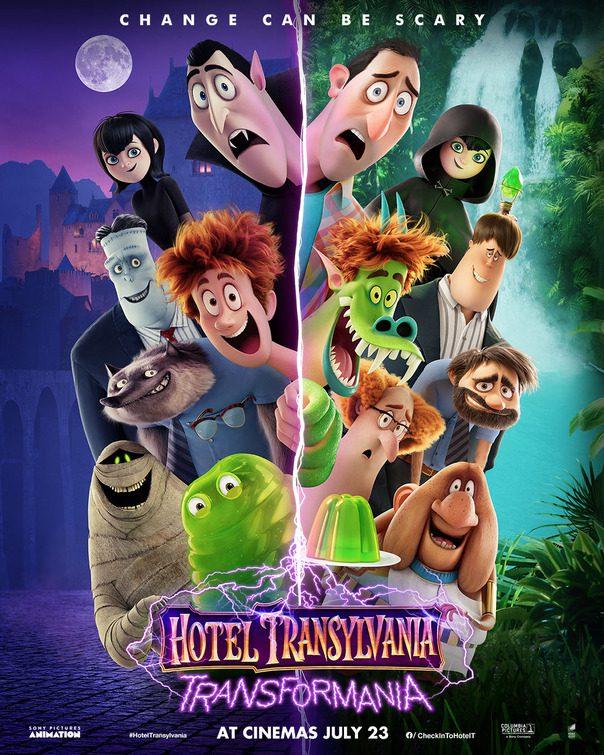 hotel transylvania - uno scambio mostruoso nuovo poster