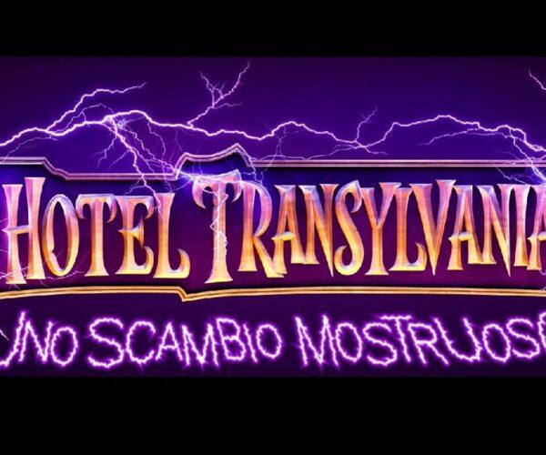 hotel transylvania uno scambio mostruoso poster