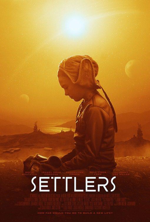 Sofia Boutella in Settlers