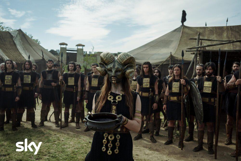 Tante immagini dal set della seconda stagione di Romulus