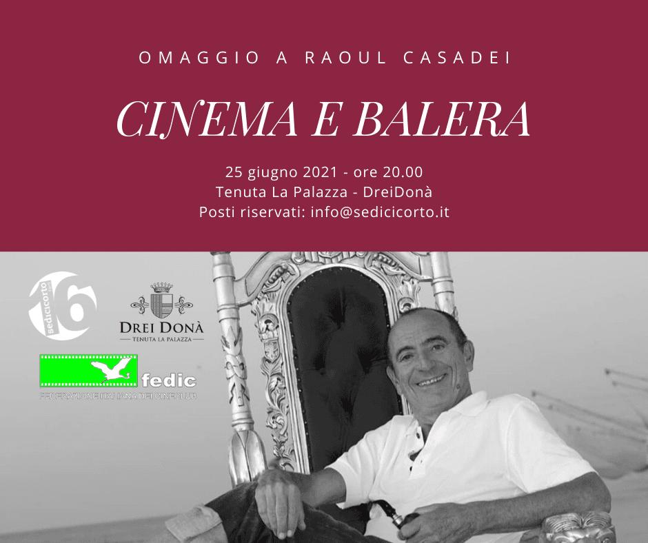 Cinema e Balera: Sedicicorto Festival ricorda Raoul Casadei