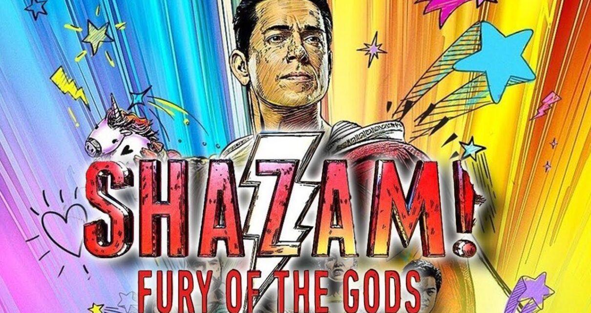 shazam! fury of the gods costume