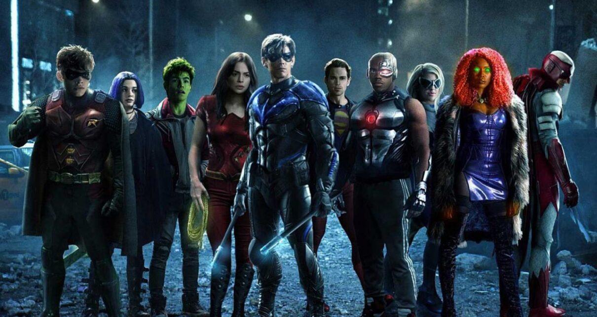 titans terza stagione riprese terminate
