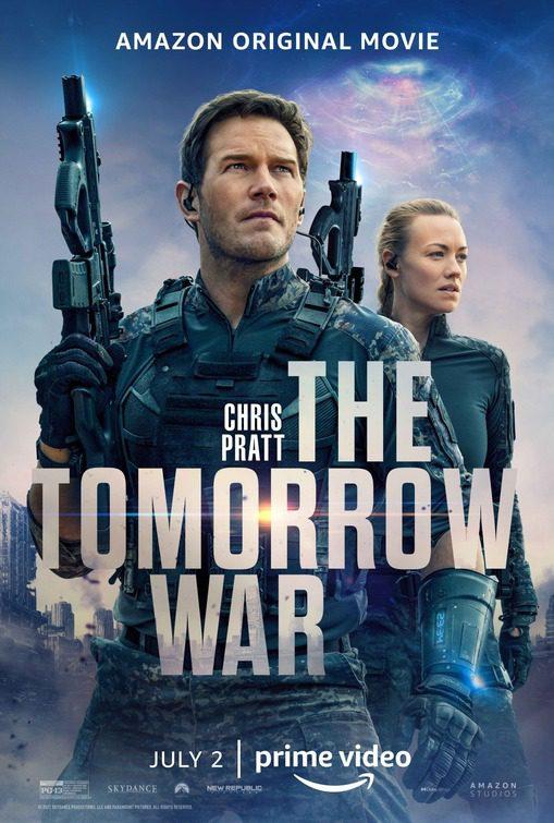 la guerra di domani poster
