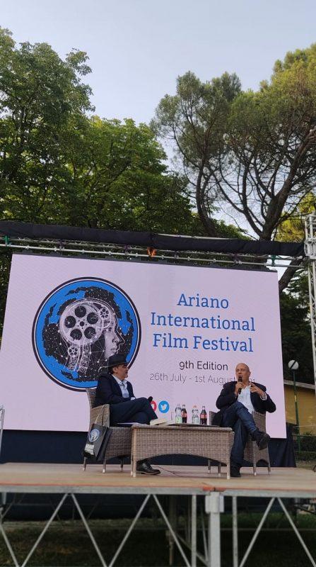 Federico Moccia protagonista della seconda giornata di Ariano International Film Festival