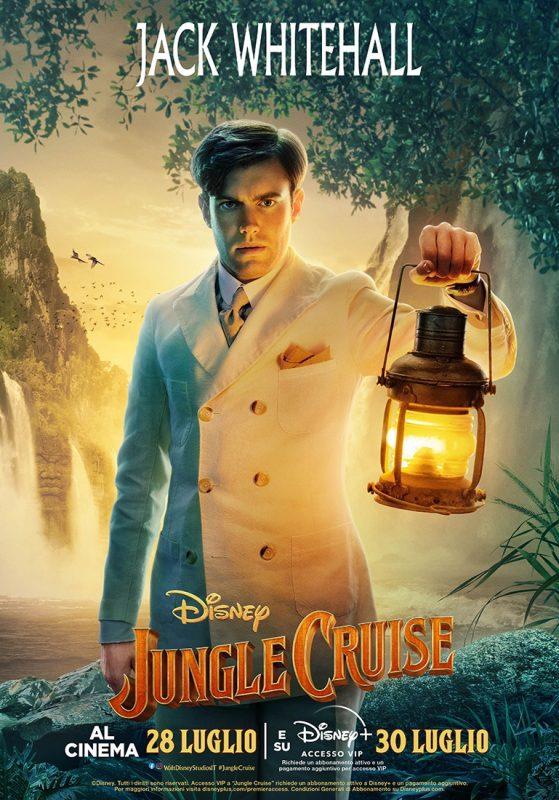 Jungle Cruise: i poster di tutti i personaggi del nuovo film Disney