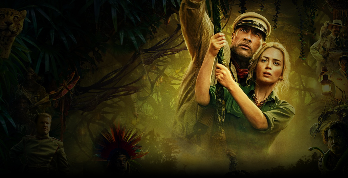 Jungle Cruise Film Poster Personaggi