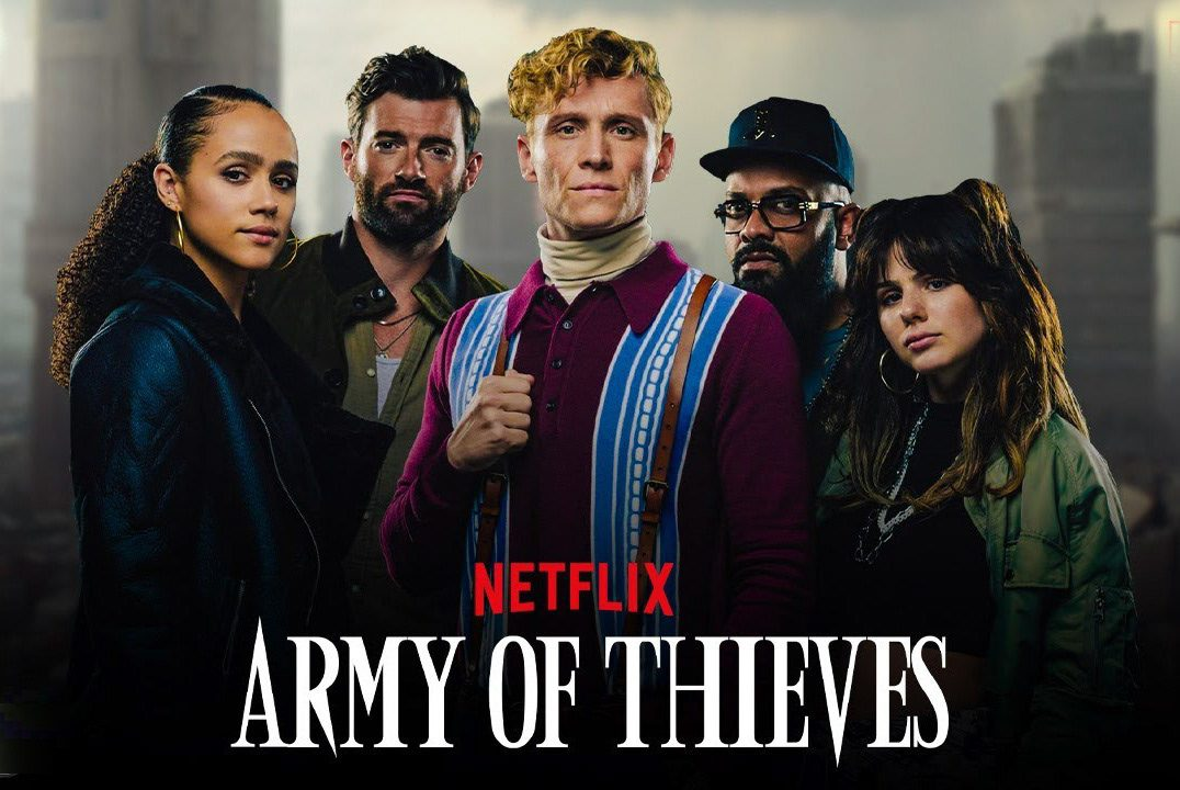 army of thieves poster