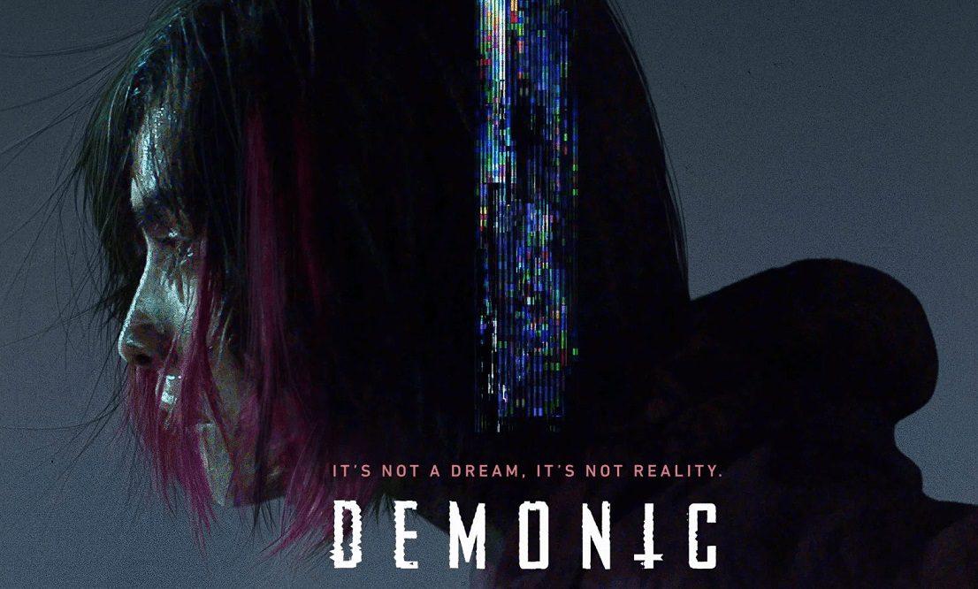demonic film poster