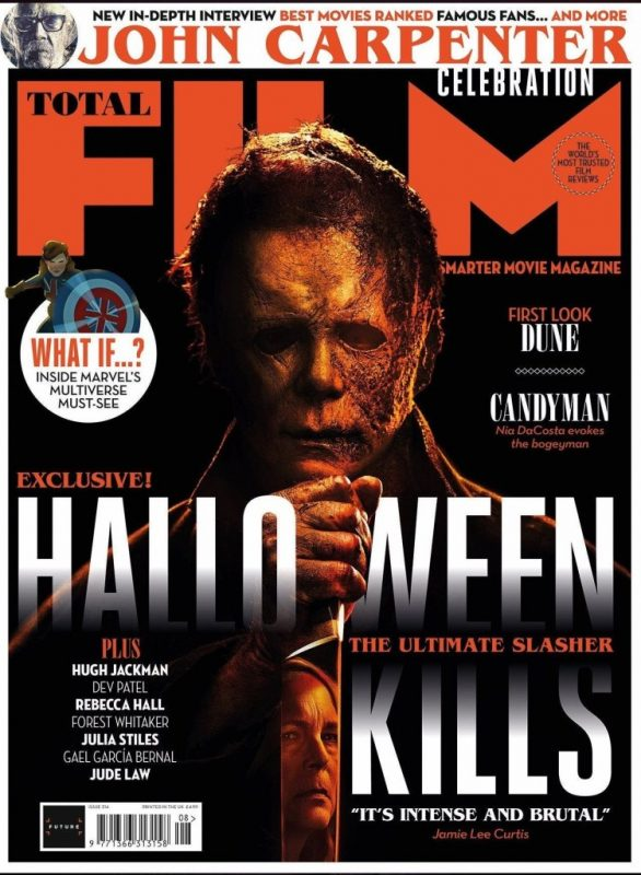 Total Film sceglie Halloween Kills per la copertina del nuovo numero