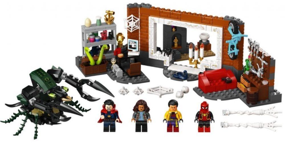 Dai set LEGO uno sguardo al nuovo costume in Spider-Man: No Way Home?