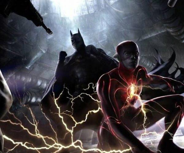 the flash film batman sul set