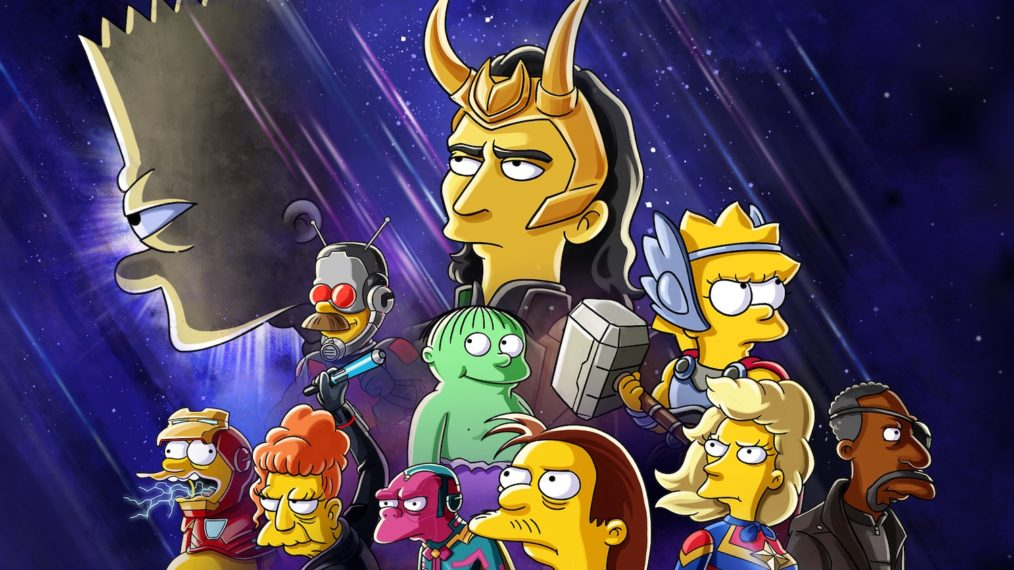 the good, the bart and the loki poster