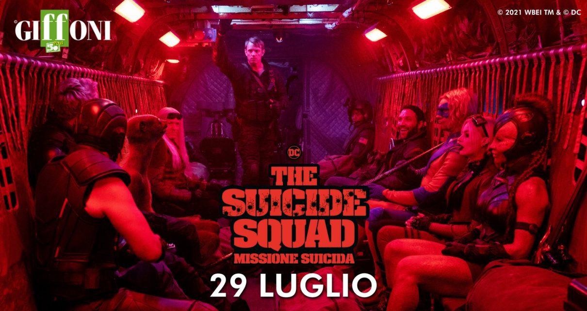 the suicide squad anteprima giffoni
