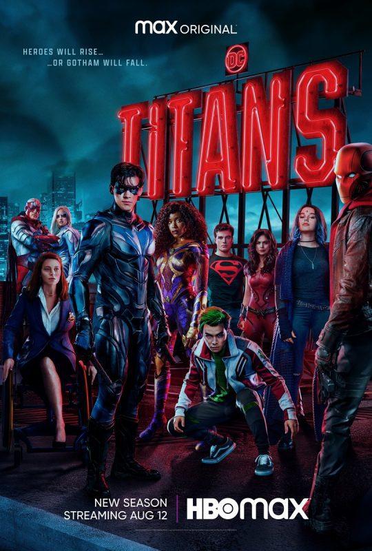 titans terza stagione poster