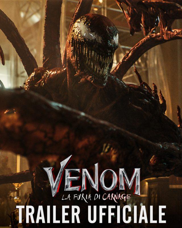 La distruzione è totale nel folle full trailer di Venom: La Furia di Carnage