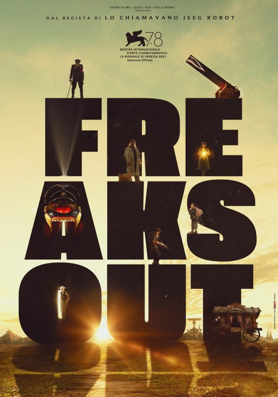 freaks out - nuovo poster venezia