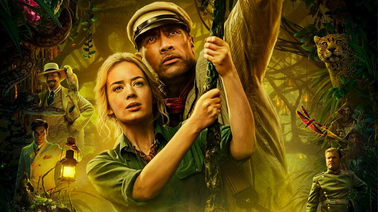 jungle cruise - box office usa weekend