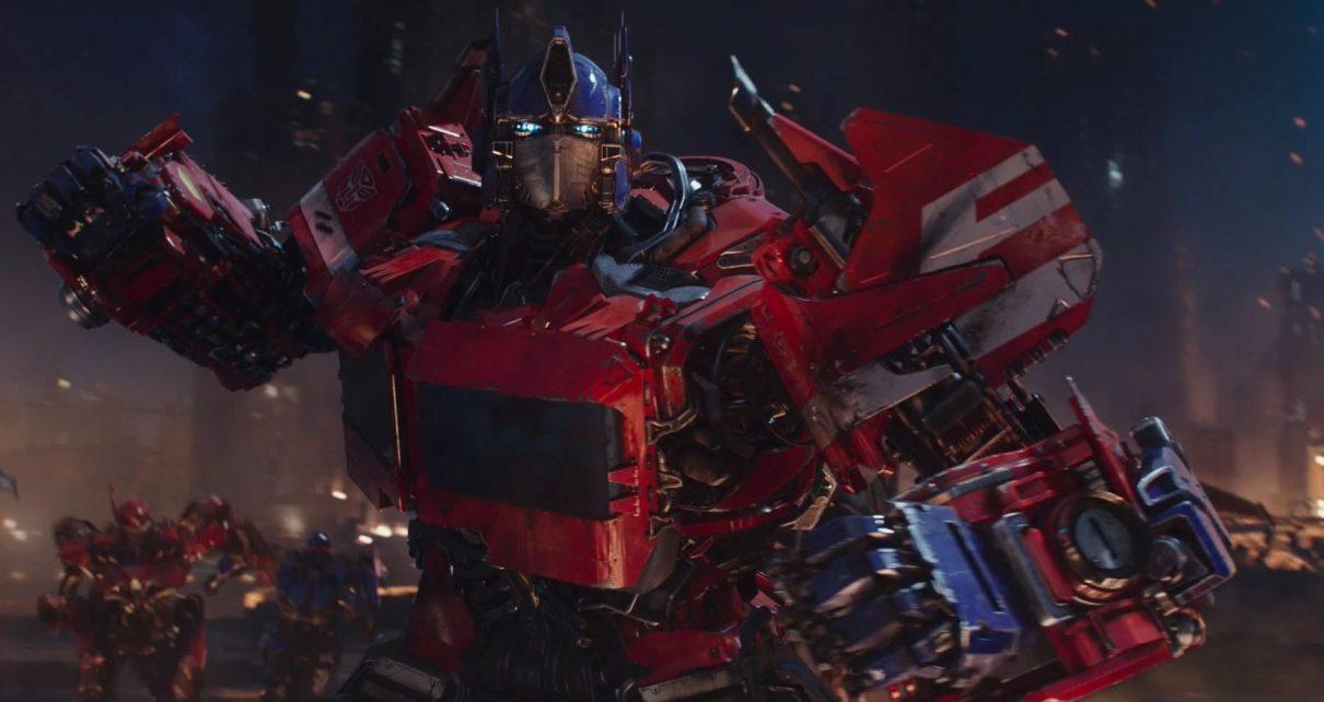 optimus prime sul set di transformers: il risveglio