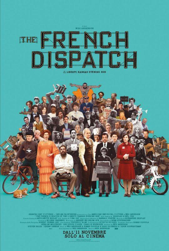 Il nuovo poster di The French Dispatch, il film di Wes Anderson