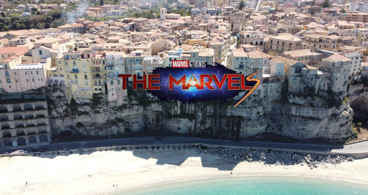 Le riprese di The Marvels si svolgeranno a Tropea a fine agosto