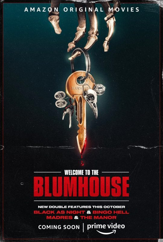 Welcome to the Blumhouse poster